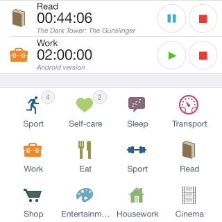 aTimeLogger 2 - mobile time tracking app | aLoggers